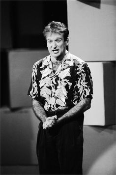 Robin Williams Comic Relief 1986 © Everett Image