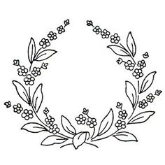 Forget Me Not Flowers in a wreath, cute little pattern! - Forget Me Not Flowers in a wreath, cute little pattern! Discontinued rubber sta… … Forget Me Not Flowers in a wreath, cute little pattern! Embroidery Designs, Hand Embroidery Patterns, Ribbon Embroidery, Flower Tattoo Hand, Flower Tattoos, Diy Jewelry Unique, Wreath Drawing, Diy Tattoo, Wreath Tattoo