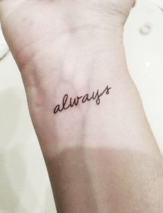 Harry Potter - Castle - Always Quote - Temporary Tattoo by PopGeekTattoos on Etsy https://www.etsy.com/listing/164195606/harry-potter-castle-always-quote