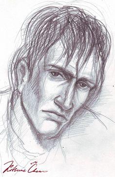 #графика #карандаш #набросок #скетч #эскиз #портрет #парни #парень #мужчина #graphics #pencil #sketch #portrait #guys #guy #man #эмоции #emotions