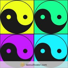 The Taoist concept of Yin and Yang… it's about balance.