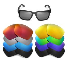 82c9942677 Walleva Replacement Lenses for Oakley Holbrook Sunglasses Multiple Options