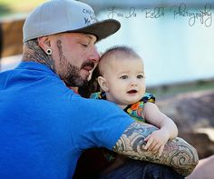 family photo's, father daughter poses, tatoo's. baby girl, utah photography, lou la belle photography