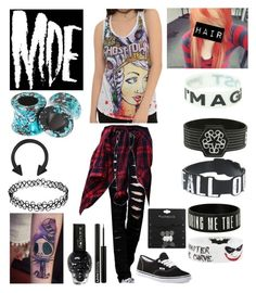 """""""What I would wear if I were apart of My Digital Escape"""" by katlanacross ❤ liked on Polyvore featuring Vans, NYX, women's clothing, women, female, woman, misses, juniors and Mydigitalescape"""