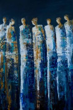 "Saatchi Art Artist Shelby McQuilkin; Painting, ""The Deep"" #art"