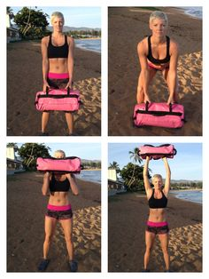 Going to make my own sandbag - Sandbag Sand Workout