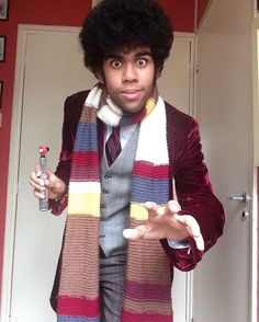 Pin for Later: 27 Wonderful Doctor Who Costume Ideas For Whovians Four This Whovian does Tom Baker's Doctor great casual justice.
