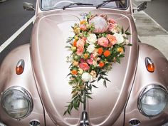 Bouquets, boutonnieres, corsages, bridal car decorations, and other wearable flowers for you and your bridal party. Bridal Flowers, Flower Bouquet Wedding, Floral Wedding, Wedding Car Decorations, Flower Decorations, Decor Wedding, Wedding Cake, Bridal Car, Mr And Mrs Wedding