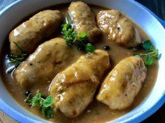 Roladki z kurczaka w aromatycznym sosie - Blog z apetytem