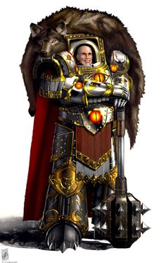 Horus Lupercal Primarch of the Luna Wolves (later to be known as the Sons of Horus) Legion, Favored son of the Emperor, and Warmaster of Chaos