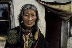 """To me, old age is always fifteen years older than I am"": Francis Bacon. Photo taken in Tibet by Steve McCurry"