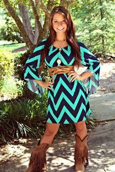Ocean Front Property Dress $38.99 #SouthernFriedChics