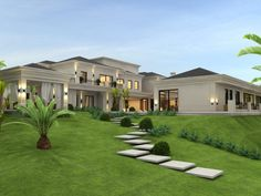 Ideas to dream House Exteriors modern – lowesbyte - DIY Traumhaus Classic House Exterior, Modern Exterior House Designs, Classic House Design, Dream House Exterior, Dream Home Design, Modern House Design, Exterior Design, House Exteriors, Best Home Design