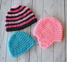 "Everyone needs one reliable pattern to make a hat with or without ear flaps. Once you have this then the opportunities are endless with what you can make. I am now offering my ""go to"" pattern for free. The basic hat pattern includes sizes from newborn up to adult."