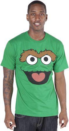 Oscar Face Sesame Street T-Shirt