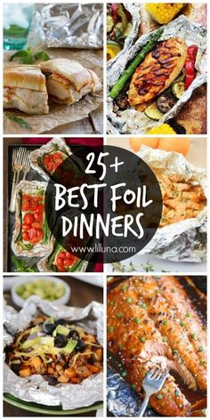 25+ Best Foil DinnersSo not the sheet pan thing but close and easy to do.