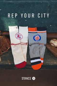 Stance has become the official sock of Major League Baseball. That means, starting with the 2016 All-Star Game, every time you see a pair of socks on an MLB player, it will be a pair of Stance's new high-quality Fusion Baseball line. The players take care of the game, and Stance takes care of the players. And the fans, too.