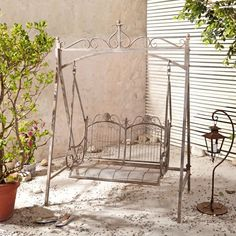 AuBergewohnlich Schaukel Garten, Hollywoodschaukel Metall, Garten Schaukel,