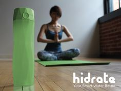 Hidrate, Inc. is raising funds for HidrateMe Smart Water Bottle on Kickstarter! HidrateMe, a smart water bottle that syncs to your phone to track your water intake and glows to remind you to stay hydrated