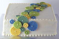 Pinwheel Cake with recipe | Night Baking