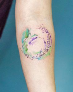 by Madalina Tattoo Artist done at CACTUS INK Bucharest. Hummingbird Colors, Hummingbird Tattoo, Bucharest, Small Tattoos, Tattoo Artists, Watercolor Tattoo, Cactus, Feminine, Ink