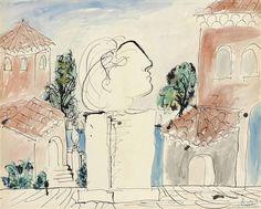 Pablo Picasso (1881-1973) Sur la terrasse, 1933