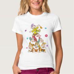 The Seven Dwarfs Pyramid T Shirt, Hoodie Sweatshirt