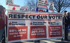 Kiss Your Vote Goodbye: NC Governor Signs Extreme Voter Suppression Bill Into Law. Coming to a state near you. VOTE THE GOP OUT in 2014!  Get your PHOTO VOTER ID NOW!  STOP THE MADNESS!