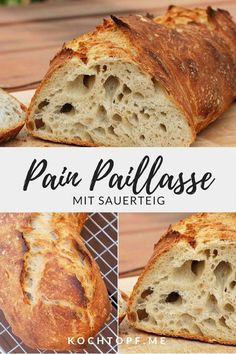 Pain Paillasse mit Sauerteig - My list of the best food recipes Clean Eating Recipes For Dinner, Clean Eating Meal Plan, Clean Eating Breakfast, Clean Eating Snacks, Clean Eating For Beginners, Cooking For Beginners, Best Pancake Recipe, Nutritional Yeast Recipes, Snacks Sains