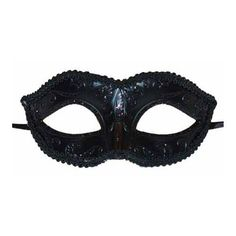Black Midnight Eye Mask