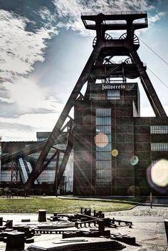 Zeche Zollverein in Essen. Eins der beeindruckensten Industriedenkmale in Deutschland.