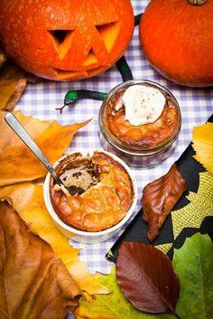 Hemsley And Hemsley Halloween Pumpkin Pie Pudding Recipe | British Vogue