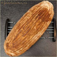 Pšenično-žitný chlieb z dnešného rána - Slovak homemade bread (recipe is in Slovak language) Slovak Recipes, Czech Recipes, Hungarian Recipes, Bread Recipes, Georgian Food, Our Daily Bread, How To Make Bread, Pound Cake, Sweet Bread
