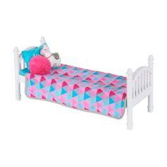 Cosas American Girl, American Girl Beds, American Girl Doll Room, American Girl Furniture, Baby Alive Dolls, Baby Dolls, American Girl Accessories, Barbie Furniture, Kid Furniture