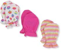 Gerber Baby-Girls Cupcakes 3 Pack Mitten // Description Gerber keeps those little newborn hands covered in our 100 percent cotton mittens for cozy softness. Mittens are designed to stay put on baby's tender hands to prevent scratching. 3 pack assortment features solids and allover prints to coordinate with other gerber layette items. Available in size 0-3 months. Machine wash and dry. Great item// read more >>> http://Goodell873.iigogogo.tk/detail3.php?a=B00ARDCCNI