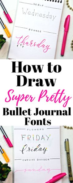 Bullet Journal Hand Lettering, Creating A Bullet Journal, Bullet Journal Inspo, Bullet Journal Layout, Bullet Journal Ideas Pages, Bullet Journals, Bullet Journal For Adhd, Bullet Journal How To Start A Simple, Bullet Journal Writing Styles