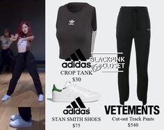 Dance Fashion, Blackpink Fashion, Kpop Fashion Outfits, Girls Fashion Clothes, Celebrity Outfits, Korean Outfits, Fashion Hacks, Lit Outfits, Sporty Outfits