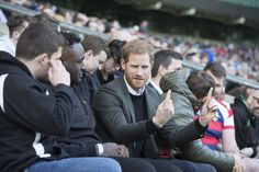 Prince Harry Photos - May0081428 . Daily Telegraph..DT News..SOLO ROTA..Prince Harry to attend England Rugby Team Open Training Session Prince Harry will then take his seat in the stands alongside the young people to watch the England team prepare for their next Natwest 6 Nations match. While the training session is taking place, Prince Harry will chat to the young people to hear about how rugby has helped to turn their lives around. Prince Harry will then make his way on to the pitch to…