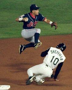 85e030b7 Omar Vizquel 1997 World Series Best Baseball Player, Pro Baseball, Better  Baseball, Baseball