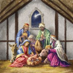 Marcello Corti, Nativity. ❣Julianne McPeters❣ no pin limits