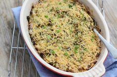 preischotel met gehakt Een hele simpele ovenschotel met prei, gehakt en een romig sausje eroverheen. Je kunt nog lekker wat ingrediënten toevoegen, zoals paprika, courgette, maïs of aubergine. Je kunt deze preischotel met gehakt ook prima van te voren al maken en vervolgens hoef je de ovenschotel alleen nog maar in de oven in te schuiven. Tijd: 15 min. + circa 30 min. in de oven Recept voor 2 personen Benodigdheden: 150 gram mager rundergehakt 1 prei 175 ml creme fraiche 5 eet