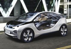 BMW i3 electric i3 112 kW motor / 35 kWh lithium-ion battery.