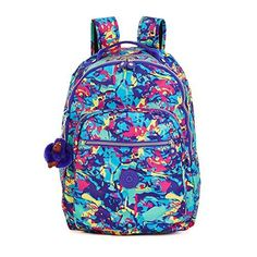5fb0d50a6ef Kipling Women s Seoul Printed Laptop Backpack