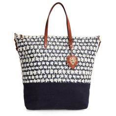 Women's Tommy Bahama Koki Beach Tote (5,495 DOP) ❤ liked on Polyvore featuring bags, handbags, tote bags, navy, tote handbags, white purse, white tote, handbags totes and straw beach tote