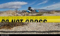 Mojave Desert, California, USA. 1st Nov, 2014. A piece of debris of #VirginGalactic #SpaceShipTwo is protected in the Mojave Desert after it crashed following an explosion during a test flight over California, killing one of the pilots and seriously injuring the other. © Xinhua/Alamy Live News