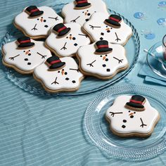 Spicy Snowman Cookies