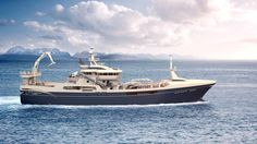 Myklebust Yard celebrates a new contract for a 90,5 meter purse seiner/pelagic trawler for Danish company Gitte Henning in 2017. Design: Salt Ship Design. Winches and cranes will be made by Karmøy Winch AS.