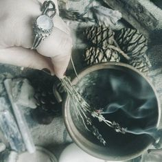 Tea | Crystal Ball Ring | Herbal Remedy | Nature | Photography