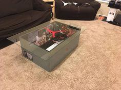 Giant christian louboutin shoe box high heels storage box nike