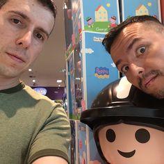 Lembrança de um bom domingo! Com @angelob06 e #Playmobil